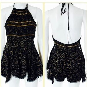 Free People Romper Dress Size XS